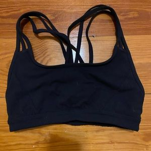 Athleta Black sports bra
